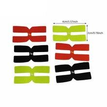 3g Tennis Racket Weight Balance Strips H-Shape Lead Tape Set Silicone Racquet Balancer Tennis Accessories 6pcs Sports Accessory