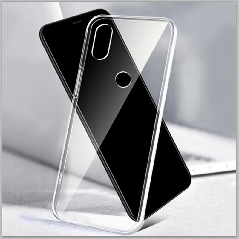 Прозрачный силиконовый чехол Three-Diao для Xiaomi Redmi Note 6 7 8 Pro