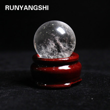 Natural Clear Quartz Crystal Sphere Balls Sphere white Crystal Ball Home Decoration Craft FengShui Photography Gift