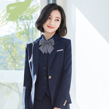 Postage Japanese and Korean students academic tie stewardess professional dress bank bow necktie accessories ladies