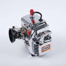 32cc Single-Cylinder Two-Stroke 3.24 Hp Four-Point Fixed Easily Starting Engine For 1/5 For 1/5 Rovan LT LOSI RC Car 1 5 rc car metal middle complete diff gear set metal middle differential assembly fit rovan lt losi 5ive t toy parts