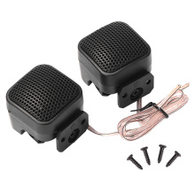 1 Pair Universal High Efficiency Mini Square Tweeter Loudspeaker 500W Loud Speaker Super Power Audio Sound for Car