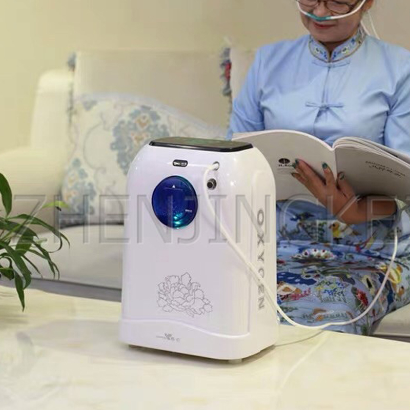 Medical Oxygen Generator Portable Ventilator Medic Small Home 110V/220V 90% High Purity 5L Oxygen Making Machine Atomization