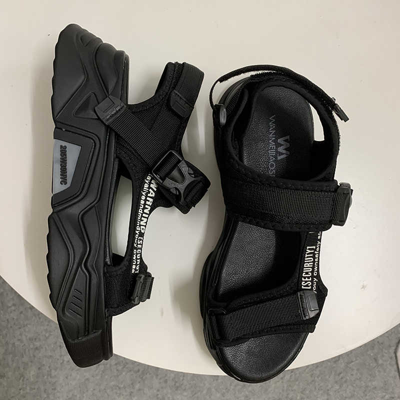 Fujin Wanita Sandal Sepatu Kasual Tebal Bawah Bernapas Wanita 2020 Slide Fashion Sepatu Wanita Musim Panas Sandal