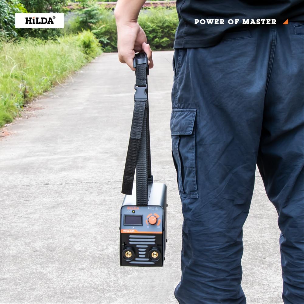HILDA Inverter ARC Welder Welding-Machine Portable Efficient 220V for Home Beginner