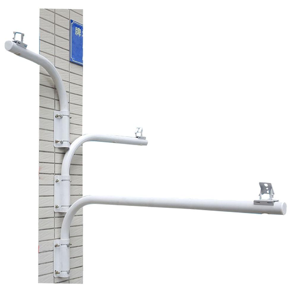 OwlCat High Quality CCTV Camera Extension Stand L Shape Wall Mount External Wall Corner Bracket Waterproof Length 400MM
