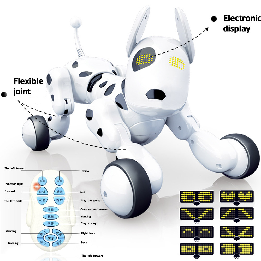 cao brinquedo cao maquina inteligente 24g 04