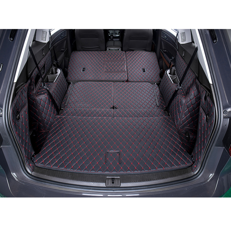 Custom Logo Car Trunk Mat For Ssangyong All Models Rexton Korando Rodius ActYon Kyron Car Styling Auto Accessories