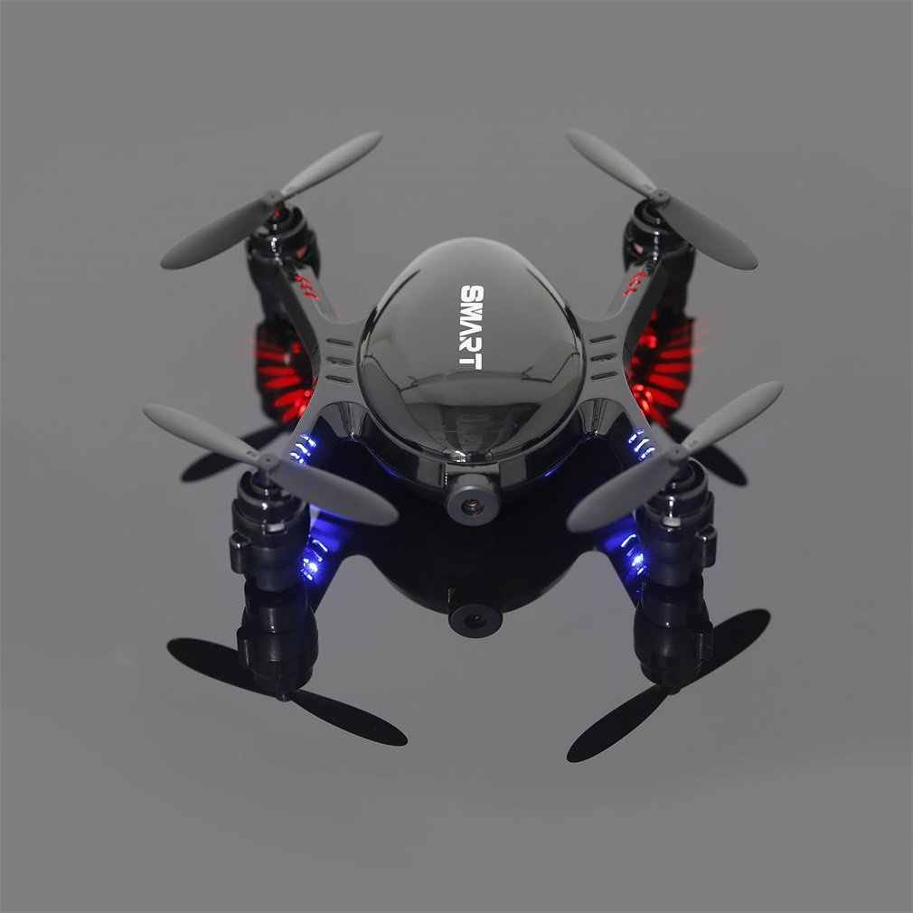 2.4GHz Real-time 720P Video FPV RC Quadcopter with 0.3MP Built-in Camera Headless Mode Mini Drone with Altitude Hold