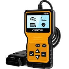 Neue Ankunft Auto checking Tool Detektor V310 Diagnose Scanner Universal ODB2 Überprüfen Motor Scanner OBDII