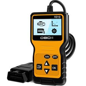 Image 1 - أداة فحص السيارة, أداة فحص السيارة V310 ماسح ضوئي تشخيصي عالمي ODB2 ماسح فحص المحرك OBDII