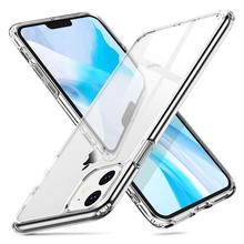 Arvin HD Clear Case for iPhone 11 Pro Max 9H Tempered Glass Soft Edges Shockproof Scratch-Resistant Bumper Hard Cover