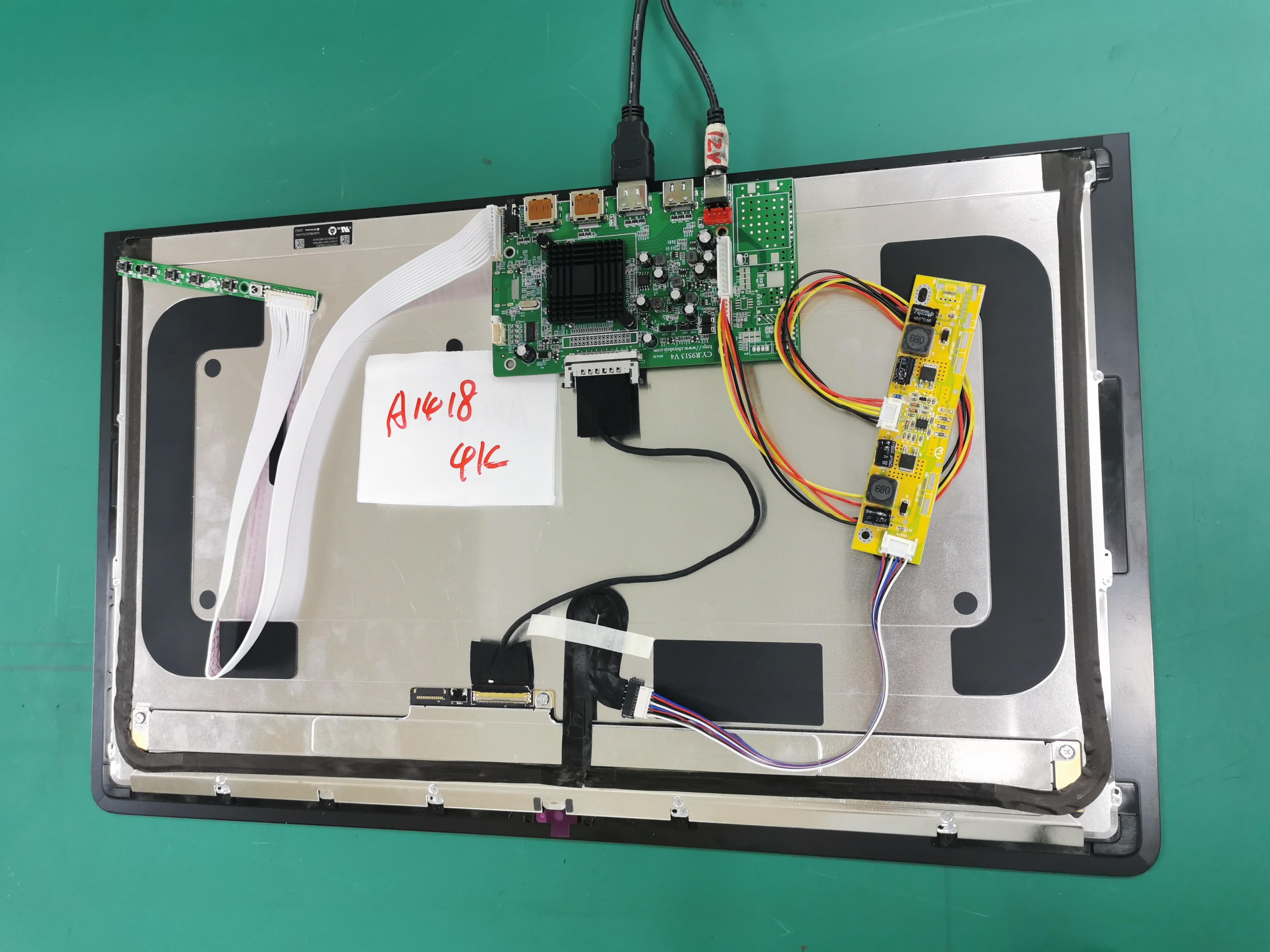 For IMac A1419 5k  2K A1418 4k LCD LED Screen Display  LM270WQ1 LM270QQ1 LM215WF3 LM215UH1 Test Control  Driver Board