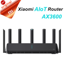 Xiaomi AIoT Router AX3600 Gigabit Dual-Band Wireless Router Wifi Repeater 6 High Gain AIoT Antennas Wider Coverage Easy setup(China)