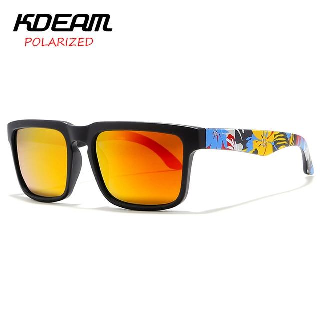 KDEAM Ultralight Mirror Polarized Sunglasses - UV400 4