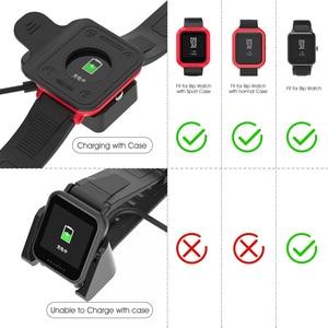 Image 4 - Voor Amazfit Bip Laders Vervanging Draagbare Clip Magnetische Cradle Voor Huami Bip Lite Midong Smart Horloge A1608 Opladen Dock