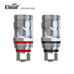 Image 4 - 5/10PCS המקורי Eleaf EC ראש EC M/EC S/EC2/ECL סליל עבור אני פשוט 2/אני פשוט S/מלו 3 סליל iJust2 EC ראש אלקטרוני סיגריה