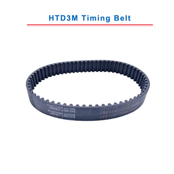 HTD3M Timing Belt with circular teeth 3M-225/228/231/234/237/240/243/246/249/252 teeth pitch 3mm belt width 10/15 mm free shipping 1pcs htd1540 14m 40 teeth 110 width 40mm length 1540mm htd14m 1540 14m 40 arc teeth industrial rubber timing belt