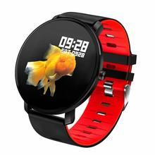Para oppo encontrar x3 pro f19 pro a94 vivo x60 pro + y31 s9 y30g relógio inteligente ip68 à prova dip68 água toque completo monitor de freqüência cardíaca
