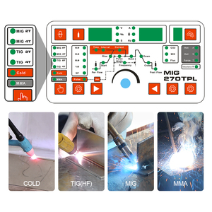 Image 3 - ANDELI Smart Welding Machine MIG TIG MMA Cold Welding and Flux Welding without Gas 4 in 1Multi function TIG Welding Machine