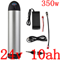 24В 10ач 350 Вт Батарея для электрического велосипеда 24В 8ач 9ач 10ач 11ач 12Ач литиевая батарея 24В 250 Вт 350 Вт Батарея для электровелосипеда с заряд...