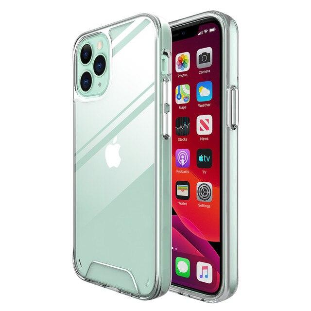 Bumper Soft Case for iPhone 12/12 Max/12 Pro/12 Pro Max 4