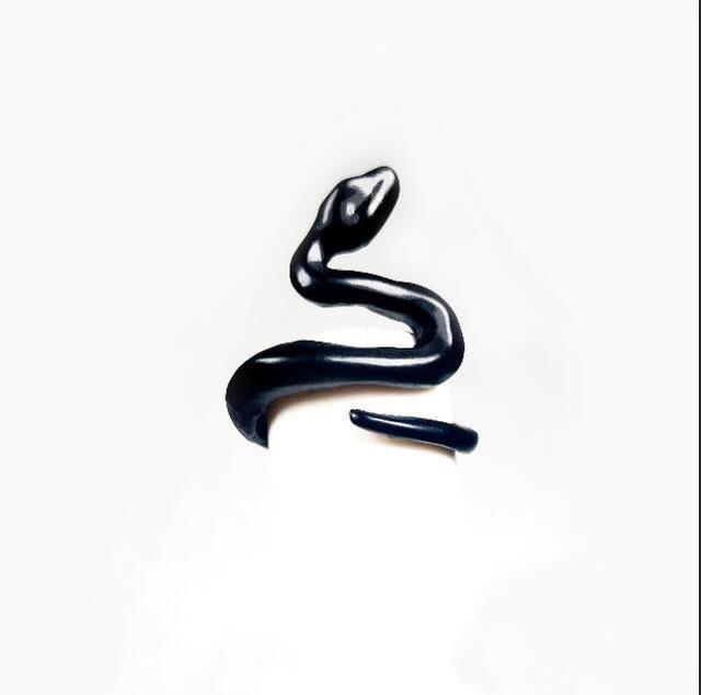 Bague homme serpent