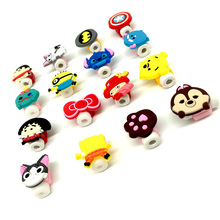Cartoon Cable Protector Data Line Cord Protector Protective Case Cable Winder Cover For iPhone5 5s 6 6plus 6s USB Charging Cable