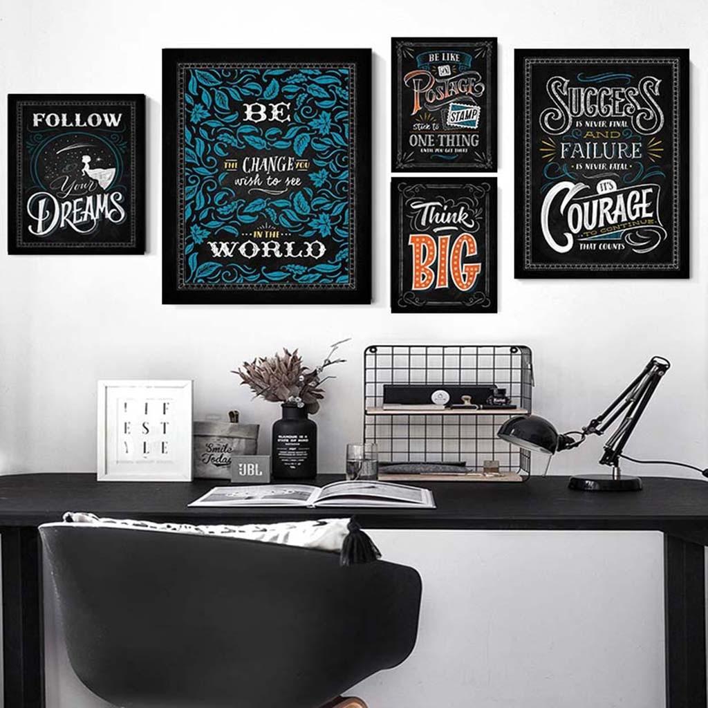 Product Designer Gifts Product Designer Nutritional Facts Label Chalkboard Wall Art Motivational Poster for Living Room Bedroom Office