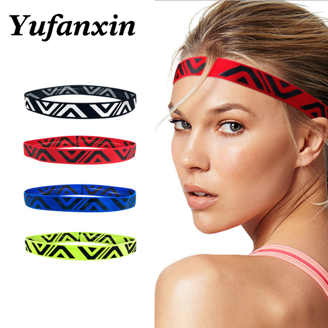 Men and women Headband Sports Sweat Guide Belt Running yoga Hair Band Basketball Forehead Sweat Absorption Headband