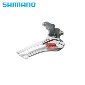Image 1 - Shimano Claris FD 2400 Road Bike Bicycle Front Derailleur 8 Speed Braze on / Clamp 31.8mm 34.9mm 2400 front derailleurs