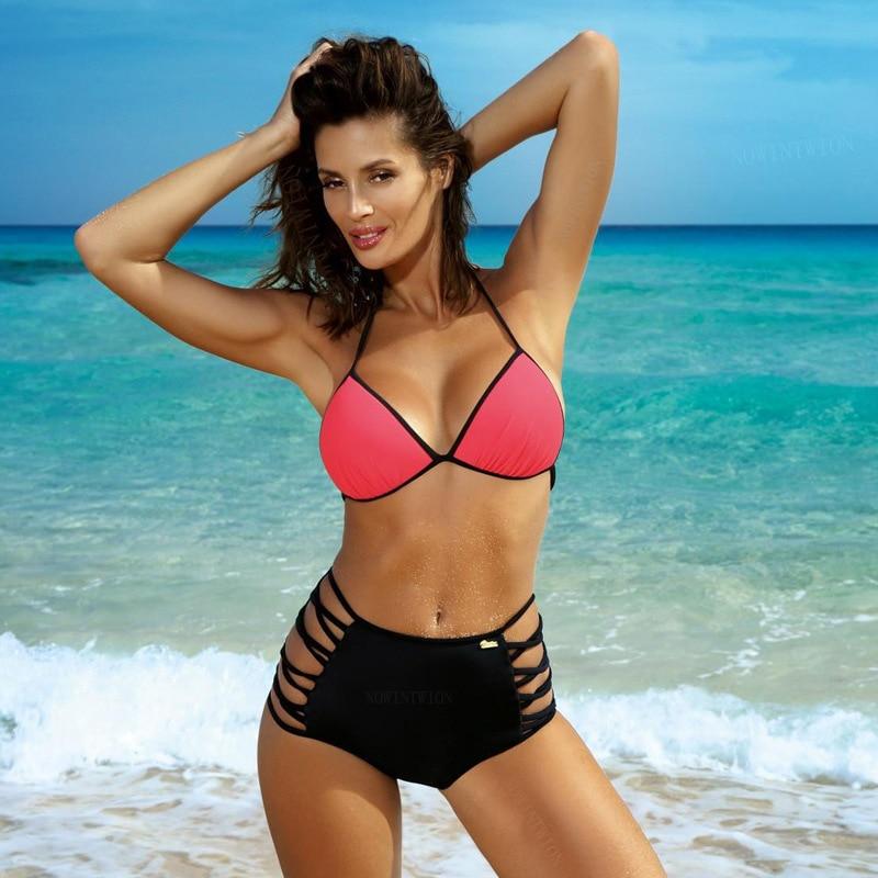 Hfd08063bd6bb49ba95c0593a50adbe37p 2019 Sexy Bikini Set Three Piece Swimsuit Women Push Up Swimwear Brazilian Bathing Suit Beachwear Swimming Suit For Women Bikini
