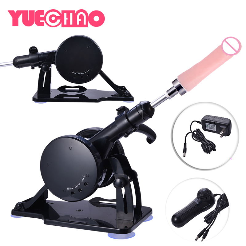 Automatic <font><b>Sex</b></font> Machine Electric Thrusting Masturbation Love Machine Guns with 1 Dildo 2 Vibrating <font><b>Egg</b></font> <font><b>Sex</b></font> Products for Couples image