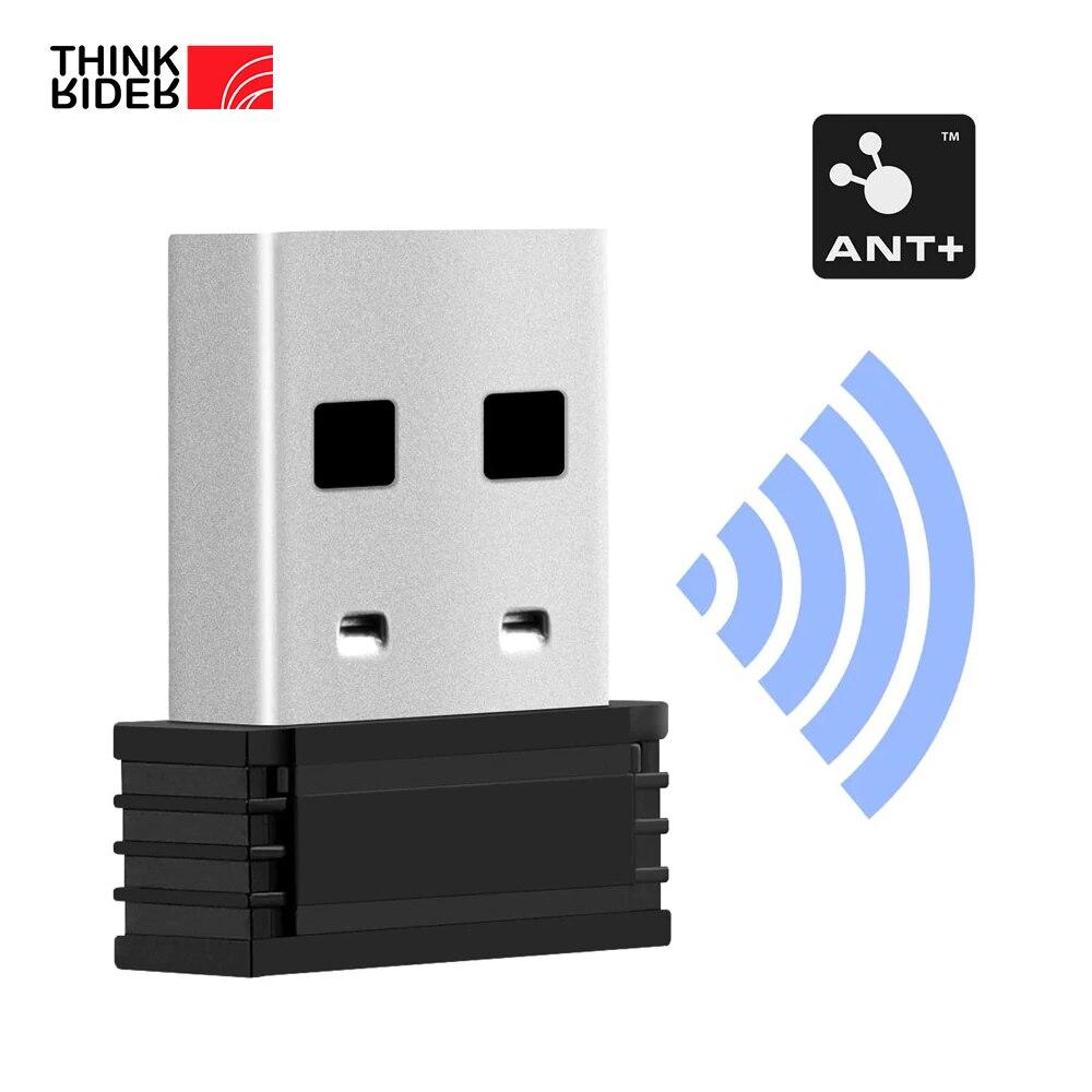ThinkRider Enhanced ANT+ USB Transmitter Receiver Compatible Garmin Bicycle Computer ANT Stick Speed Cadence Sensor 1