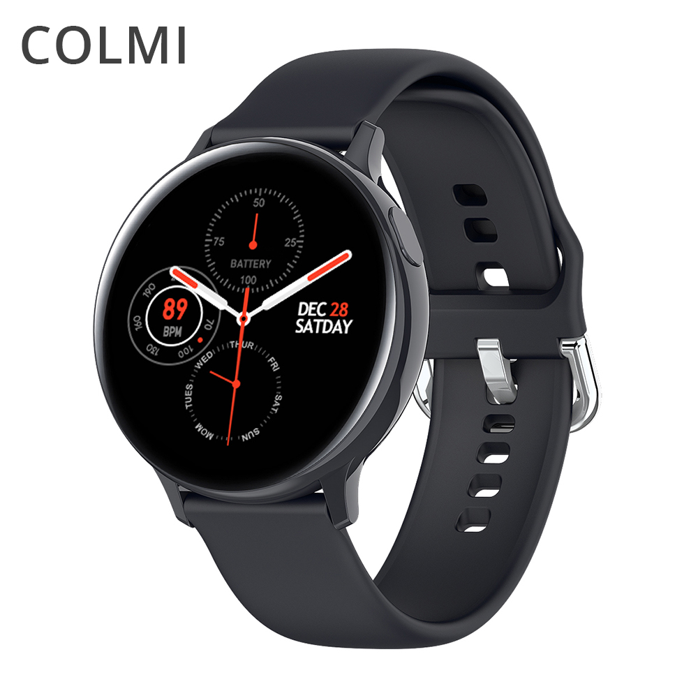 COLMI S20P ECG Smart Watch IP68 Waterproof 1.4 Inch Full Touch Men Healthy Fitness Tracker 7 Days Battery Life Women Smartwatch