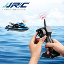 RC Boat Ship-Toys Radio-Control JJRC Models Motorcycle Double-Motor Two-Speed Children