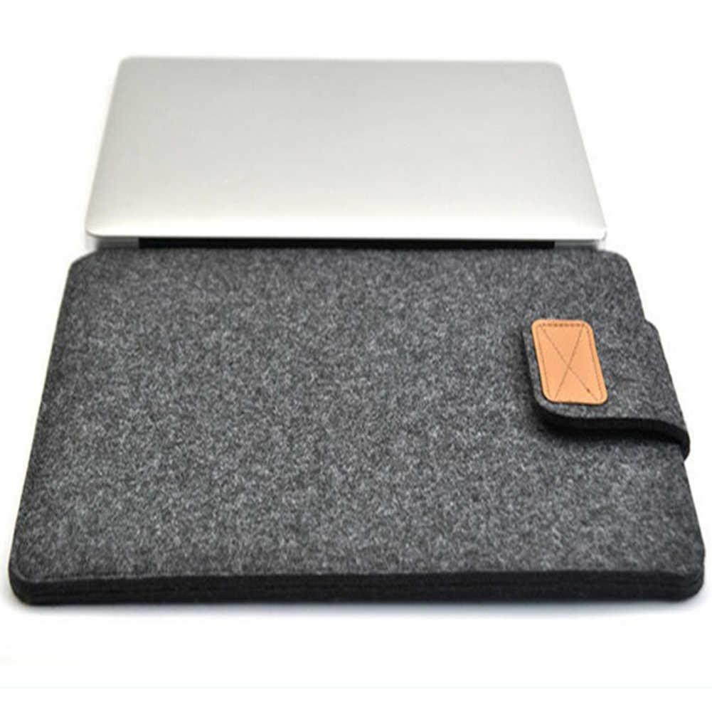 جديد وصول واقية غطاء حاسوب محمول مصنوع من اللباد حقيبة حالة غطاء ل ماك بوك اير برو الشبكية 11