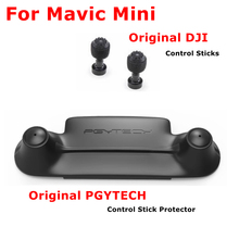 Mini controle remoto mavic, controlador de polegar rocker, suporte fixo para dji mavic mini, acessórios