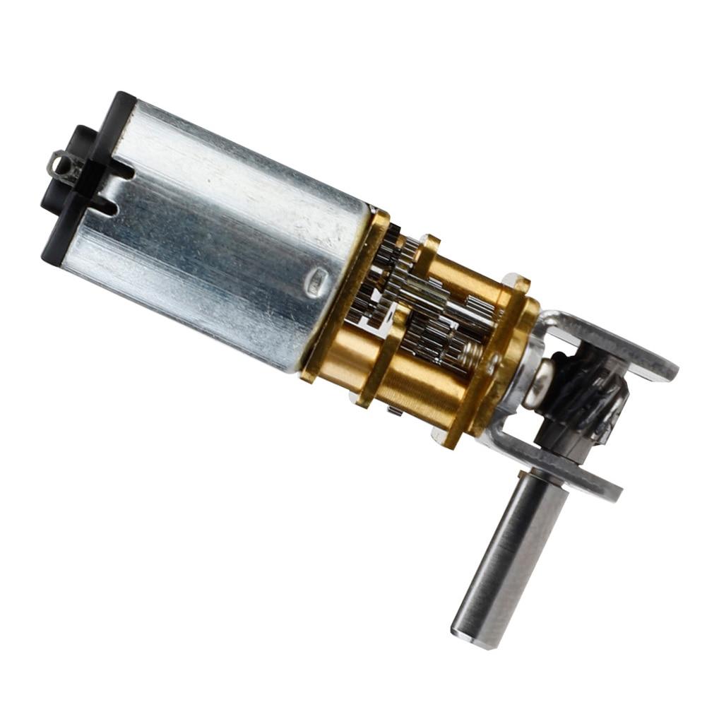GW12GA-22 DC 12V 22rpm Worm Gear Motor Gear Box Reversible Electric Motor For Household Electrical Appliances Application