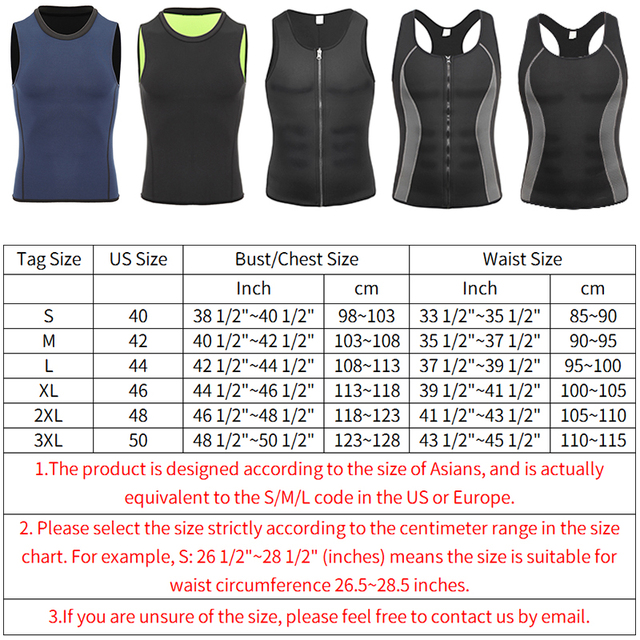 Men Workout Waist Trainer Abs Abdomen Shapewear Tummy Slimming Sheath Sauna Body Shaper Trimmer Belt Slimming Tops Sweat Corset 5
