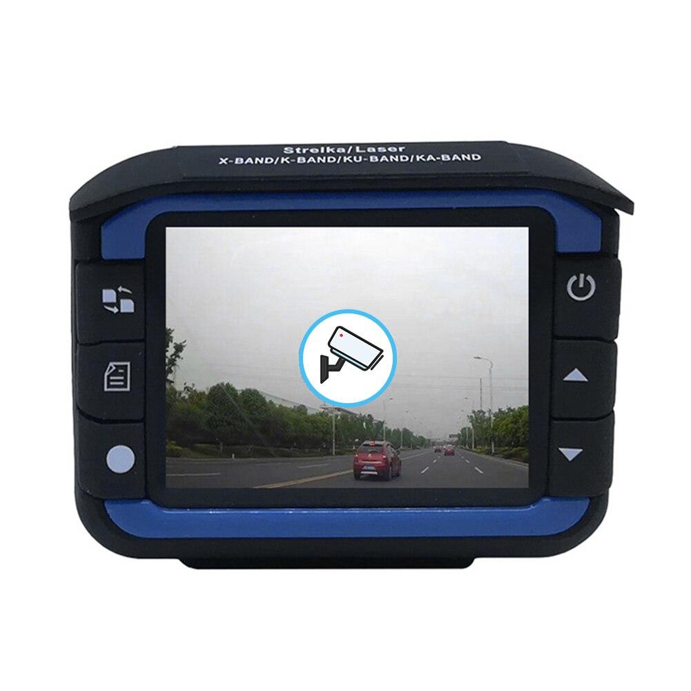 VG3 2 в 1 Автомобильный видеорегистратор приборная панель камера радар-детектор английский русский скорость голосовое оповещение сигнализац...