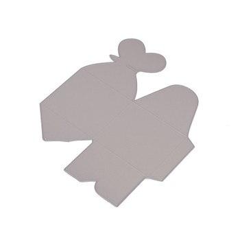 Caja de regalo de mariposa troqueles de corte de Metal nuevo 2020 para troqueles de artesanía álbum de recortes plantillas de grabado papel troquelado decoración cortada