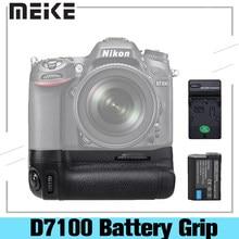 Meike D7100 Meike MK-D7100 MK D7100 Vertical Battery Grip Holder for Nikon D7100 D7200 replace MB-D15 as EN-EL15 With Battery