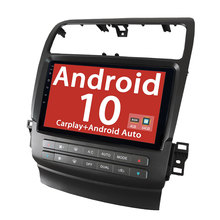 Android 10.0 Quad core autoradio GPS Navigation 10.1 ''pour Acura TSX 2004-2008