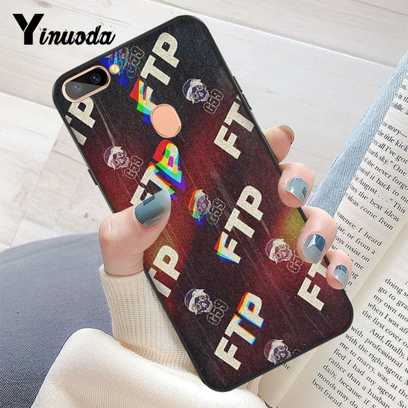 Yinuoda Suicideboys Ftp G59 Smart Cover Black Soft Shell Phone Case For Oppo R17 R17 Neo R11s Plus R9 R9s Plus Mobile Cases