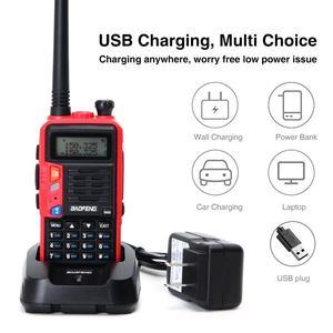 Image 5 - 2021 BaoFeng UV S9 Plus 10W/8W Portable talkie walkie 20km longue portée jambon Radio émetteur récepteur de baofeng uv 5r Radio bidirectionnelle