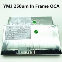 250 мкм YMJ ОСА клей для Samsung S10E Передняя стеклянная панель ОСА клей ламинат lcd ремонт