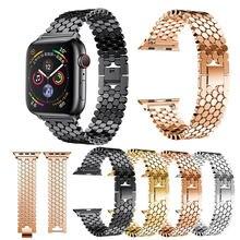 Браслет для apple watch 1 2 3 4 5 6 se браслет из нержавеющей