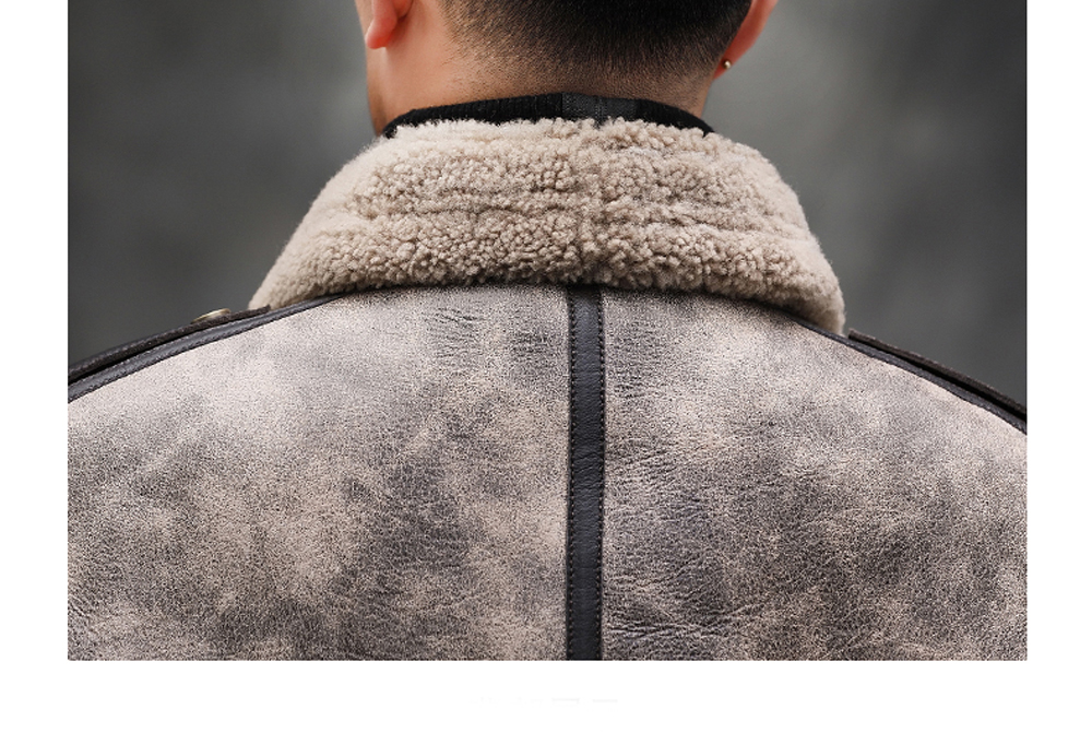 Hfd0986d8195b48bd81e1ec28fc90a4c3f 2019 Fashion 100% Quality Real Sheepskin Fur Men Coat Genuine Full Pelt Sheep Shearling Male Winter Jacket Brown Men Fur Outwear