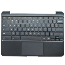 цена на NEW Laptop Palmrest Upper Case with Keyboard Touchpad For Samsung Chromebook XE500C13 S3 BA98-00603A